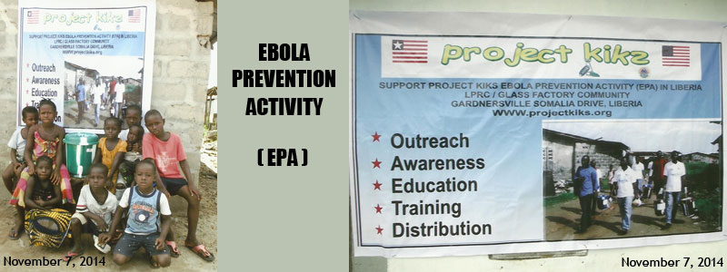 Ebola Prevention Activity Photo Banner